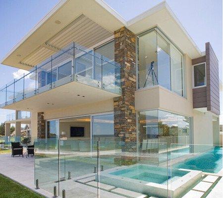 Frameless Glass Railing Demax Arch