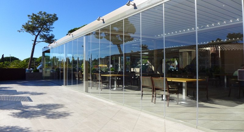 store front glass door curtain wall