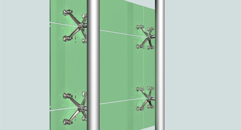 spider glass curtain wall