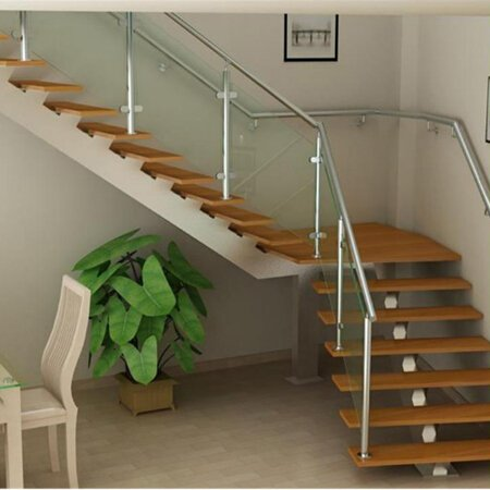 L Shaped Staircase Quarter Turn Staircase Demax Arch