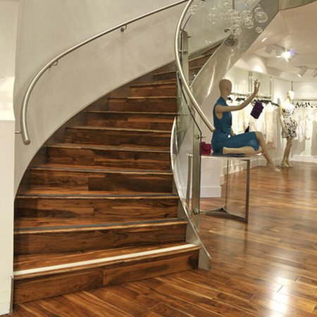 Marvelous Curved Staircase CURS509