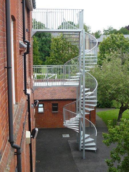 Escape Staircase Escape Stairs Demax Arch