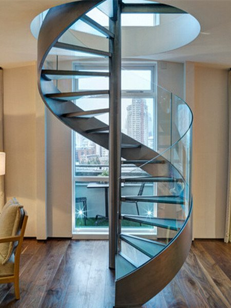 Glass Spiral Staircase Glass Spiral Stair Demax Arch