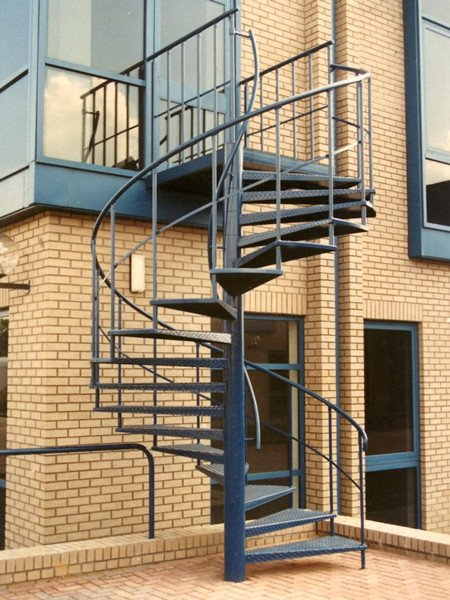 Escape Staircase Escape Stairs Demax Arch