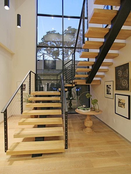U Shaped Staircase | Demax Arch
