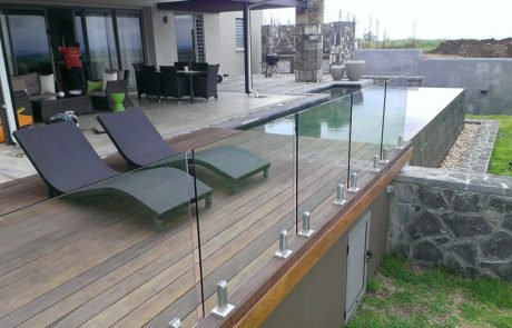 Glass Railing Designs For Deck