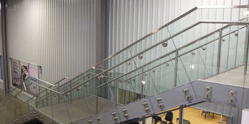 Commercial Stair Railings | Demax Arch