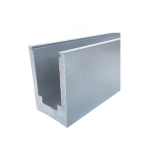 heavy duty aluminum base shoe for wet glaze system by China Supplier Demax