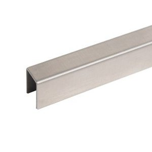 Stainless Steel U channel For Glass Railing Top Cap Handrail By china manufacturer demax arch