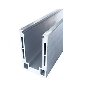Lightweight Aluminum Base Shoe For Easy Glass Railing