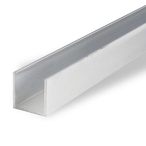 Aluminum U Channel,Aluminium Glazing Channel, Aluminium Profiles For Glazing