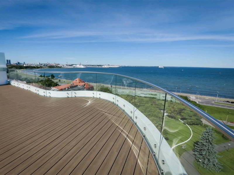 2019 Best Modern Balcony Glass Railing Design Demax Arch