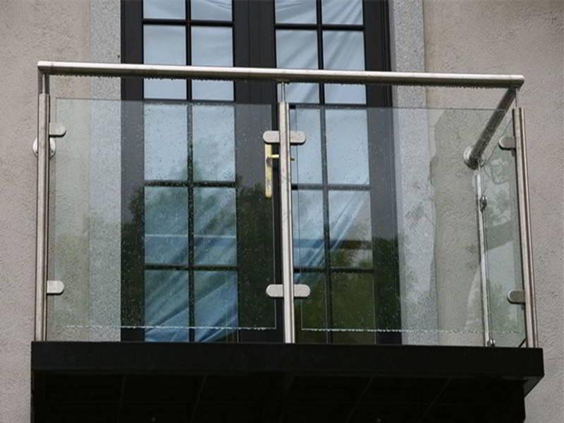 2019 Best Modern Balcony Glass Railing Design | Demax Arch