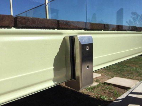 New Design Side Mount Stainless Steel Glass Spigot For Frameless Glass Balustrade