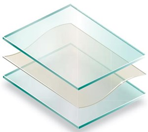 laminated tempered glass for glass railing used for deck balcony terrace stair balustrade